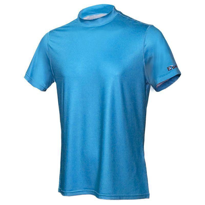 画像1: EVER ONEWORLD UVカット温度調整機能付 メンズモックネックシャツ (1)