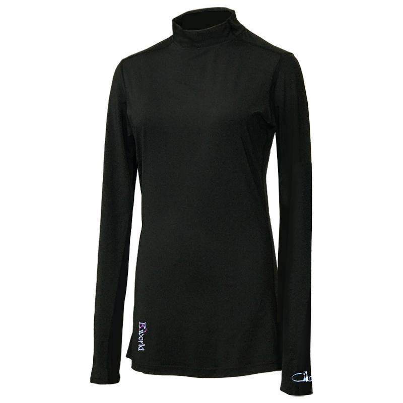 レディース インナーシャツ、ブラック