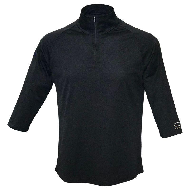 メンズ 七部丈袖シャツ ブラック